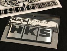 HKS - EMBLEM SILVER