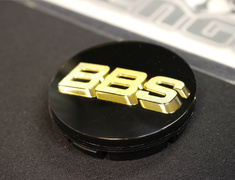 EVO X - CZ4A - Wheel Centre Cap for BBS - Black and Gold - 1 Centre Cap - Category: Wheels - 4252A152