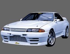 Nissan - GP Sports Front Bumper 01 Nissan Skyline GT-R R32