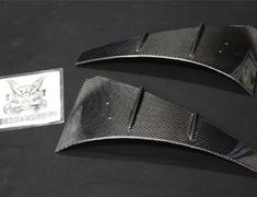 Carbon Front Fender Duct Panel