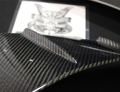 Carbon Front Fender Duct Panel