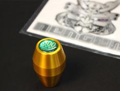 LG12G Long Type - Gold - M12x1.25 - Green Badge