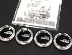 - GT-2 VOLK RACING Logo - Height: Low Type - Quantity: 4 - GT-2 - VOLK RACING - Low