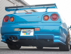 Skyline GT-R - BNR34 - Version 2 - Pieces: 2 - Pipe Size: 80mm - Tail Size: 2x60mm - 10123307
