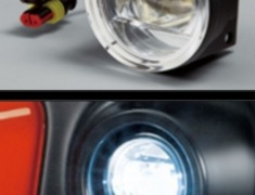 Fit - GK3 - 08V31-XMK-K4S0 - Honda Fit GK3, 4, 5, 6, GP5 Option LED Fog Light Attachment - (13G S Package, RS)-