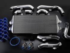 GT-R - R35 - Full Kit with blow off valves - Core: TYPE-29F - Height: 302mm - Length: 710mm - Thickness: 100mm - 12020220