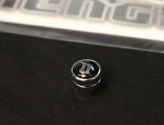 - Amistad - Zelos - Valve Caps ONLY - Set of 4 - Black - Black Caps