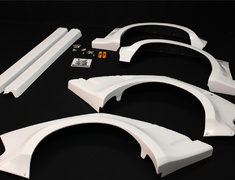 Civic - EK4 - Wide Body Kit - Construction: FRP - 01010-EK9-MR01