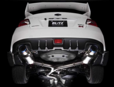 WRX S4 - VAG - Pieces: 4 - Pipe Size: 80-60mm (x2) - Tail Size: 120mm (x2) - 67152