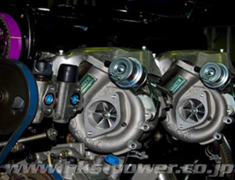 Skyline - R32 GTR - BNR32 - With reinforced actuator, Turbine Assy, EX Gasket, Pipe Gasket, Oil Inlet Pipe, Oil Outlet Pipe, Wat