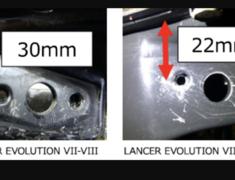 Lancer Evolution VII - CT9A - Turbocharger: GTIII-RS - 11004-AM008