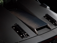 S660 - JW5 - Rear Hood Cover - Construction: Carbon - 60228