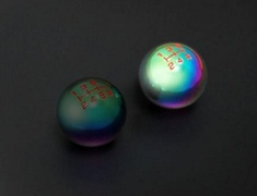 Hyakusiki - Racing Neo Chrome Shift knob