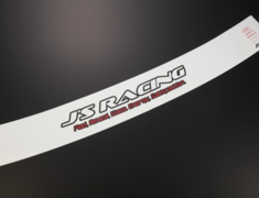 J's Racing - Windscreen Sticker