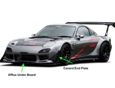 RX-7 - FD3S - Afflux Under Board
