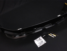 86 - ZN6 - Rear Bumper Spoiler - Painted Black (D4S) - PPE made - Must fit a High Response Muffler together - M