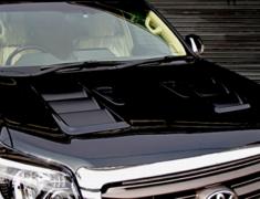 Land Cruiser Prado - GRJ150W - Aero Bonnet Type 2 - Carbon - Construction: Carbon - E150B2C