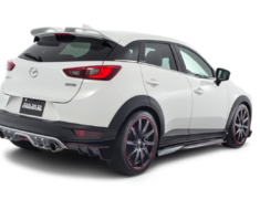 CX-3 - DK5AW - Front Spoiler, Side Skirts, Rear Diffuser, W Wing Roof Spoiler - Colour: Unpainted - Full Kit