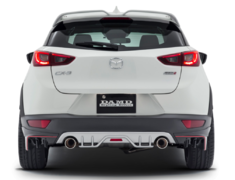 CX-3 - DK5AW - Colour: Unpainted - Rear Diffuser