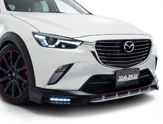 CX-3 - DK5AW - Front Spoiler - Colour: Ceramic Metallic (47A) - Colour: Crystal White Pearl Mica (34K) - Colour: Deep Crystal Blue Mica (42M) - Colour: Dynamic Blue Mica (44J) - Colour: Jet Black Mica (41W) - Colour: Meteor Gray Mica (42A) - Colour: Seoul Red Premium Metallic (41V) - Colour: Titanium Flash Mica (42S) - DD-CX3DK-FSP
