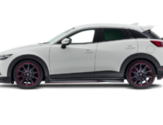 CX-3 - DK5AW - Colour: Unpainted - Side Skirts