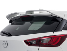 CX-3 - DK5AW - W-Wing Roof Spoiler - Colour: Ceramic Metallic (47A) - Colour: Crystal White Pearl Mica (34K) - Colour: Deep Crystal Blue Mica (42M) - Colour: Dynamic Blue Mica (44J) - Colour: Jet Black Mica (41W) - Colour: Meteor Gray Mica (42A) - Colour: Seoul Red Premium Metallic (41V) - Colour: Titanium Flash Mica (42S) - DD-CX3DK-WWP