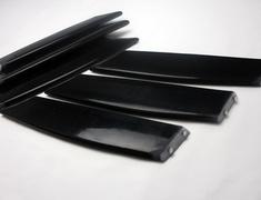 RX-8 - SE3P - Construction: FRP - Colour: Unpainted - Front Bumper Duct Fin