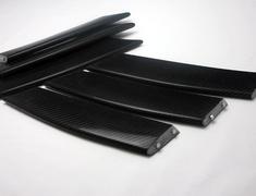 RX-8 - SE3P - Construction: Carbon - Front Bumper Duct Fin