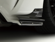86 - ZN6 - Air Shroud Set L&R (Rear Bumper Option Part) - Construction: Carbon - VATO-054