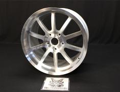 "- Porsche - 911 - Carrera/Carrera S - 996 - Colour: Polished/Chrome Silver - Size: 19"" - Width: 11.0 -"
