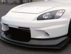 S2000 - AP1 - Street Version Front Bumper - FRP Upper + Wet Carbon/FRP Lower - S2F-1 + S2F-4
