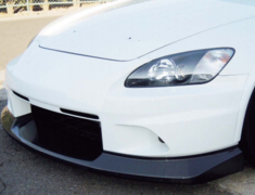 S2000 - AP1 - Street Version Front Bumper - FRP Upper + Wet Carbon Lower - S2F-1 + S2F-3