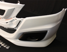 Odyssey - RB3 - 62511-XLNB-K0S0-ZZ - Front bumper with Front Grille - unpainted