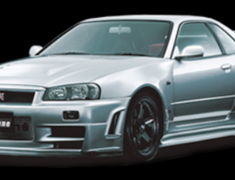 Nismo - Aero Parts - R34 GTR Omori Factory - Z-Tune Original Dry Carbon