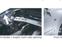 Skyline GT-R - BNR34 - Front Fender Set - Construction: Dry Carbon - 63110-RSR47
