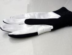 Universal - Color: Black - Size: M - Racing Gloves - Black