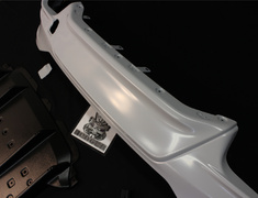 IS 200t - ASE30 - MS343-53002-00 - Rear Diffuser - Unpainted - Must be installed with Sports Muffler