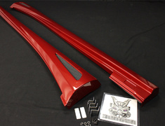 - 51082-TAE30-R - Lexus - IS 300h/350/250 - AVE30/GSE3# - Side Steps - Red Mica Crystal Shine (3R1)