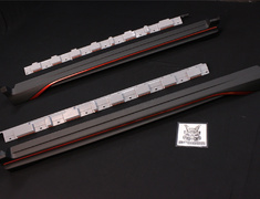 X-Trail - T32 - Side Skirts - Construction: ABS Plastic - 7685S-RN2TO