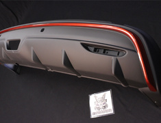 X-Trail - T32 - Rear Under Spoiler - Construction: ABS Plastic - 8502S-RN2T1