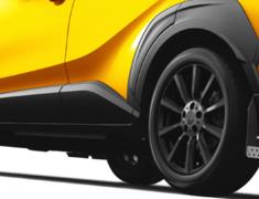 C-HR - ZYX10 - 511 Mud Flap - Colour: Black - MS328-10001