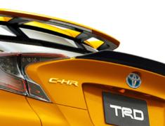 C-HR - ZYX10 - 512 Rear Trunk Spoiler - Colour: Black - MS342-10003