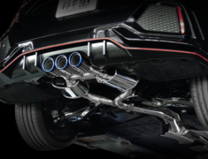 Civic Type R - FK8 - Pieces: 3 - Pipe Size: 70mm - Tail Size: 3x96mm - Weight: 19.2kg - Tail Type: Slash Cut - H713119