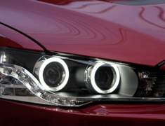 Lancer Evolution X - CZ4A - LED CCFL HID Angle Eye Headlight - Construction: - - VLMI-005