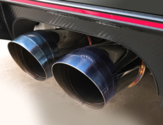 Civic Type R - FK8 - Pipe Size: 70mm (x2) - Tail Size: 114mm (x2) - T304W-K8-70RS