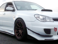 Impreza WRX STI - GDB - Front Over Fenders - Construction: FRP - Colour: Unpainted - IOF-1