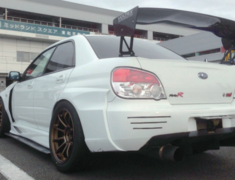 Impreza WRX STI - GDB - Rear Over Fenders - Construction: FRP - Colour: Unpainted - IOR-1