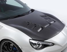 86 - ZN6 - Aero Bonnet - Construction: Carbon Plain Weave - Colour: - - 86KABCPW