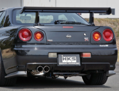 HKS - 2SX - 2 Stage Exhaust System