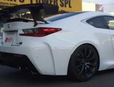 RC F - USC10 - Exclusive Mount - Can fit with Auto Spoiler - Material: Dry Carbon - VOLEXM-USC10